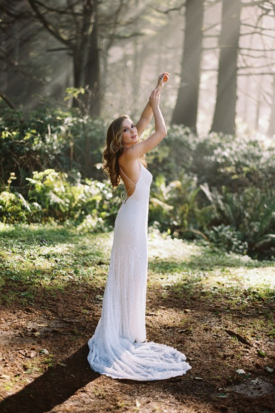 Allure Bridal's Dreamy Boho Wilderly Bride Wedding Dress Collection (And Giveaway!) | Brumwell Wells Photography | Selena