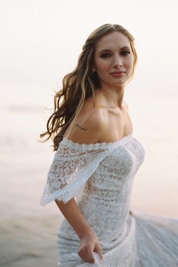Allure Bridal's Dreamy Boho Wilderly Bride Wedding Dress Collection (And Giveaway!)   Brumwell Wells Photography   Stella 2