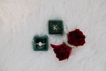 Classic Romance; A Heartfelt Wedding Filled With Red Roses | T & K Photography 26