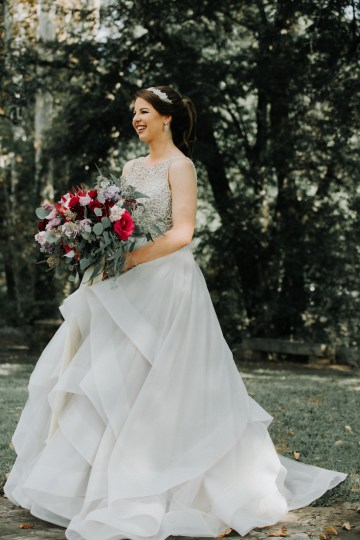 Classic Romance; A Heartfelt Wedding Filled With Red Roses | T & K Photography 67