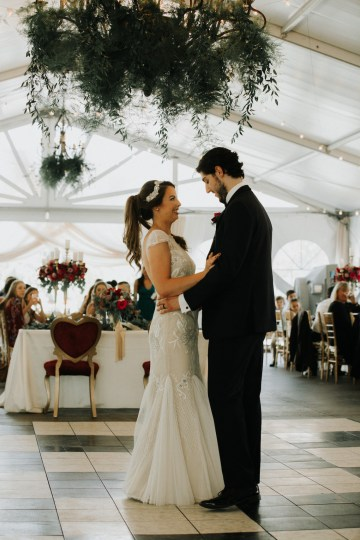 Classic Romance; A Heartfelt Wedding Filled With Red Roses | T & K Photography 74
