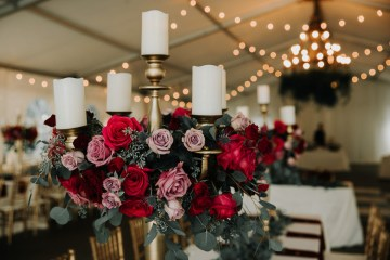 Classic Romance; A Heartfelt Wedding Filled With Red Roses | T & K Photography 9