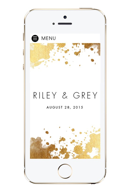 Create A Wedding Website As Unique As Your Are With Riley & Grey 4