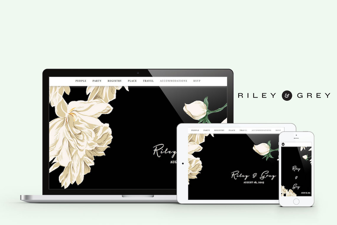 Create A Wedding Website As Unique As Your Are With Riley & Grey 5