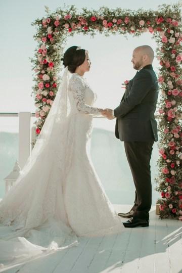 Intimate & Luxurious Cliffside Santorini Wedding   Stella and Moscha   Nikos Gogas 12
