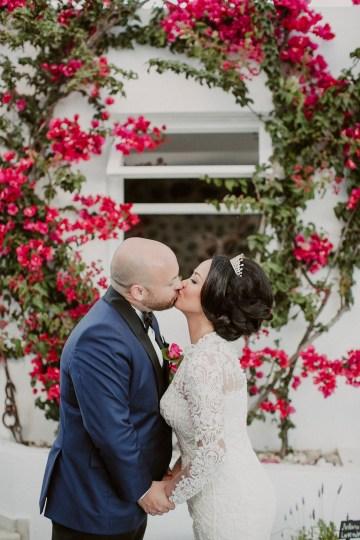 Intimate & Luxurious Cliffside Santorini Wedding   Stella and Moscha   Nikos Gogas 15