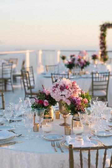 Intimate & Luxurious Cliffside Santorini Wedding   Stella and Moscha   Nikos Gogas 22