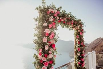 Intimate & Luxurious Cliffside Santorini Wedding   Stella and Moscha   Nikos Gogas 46