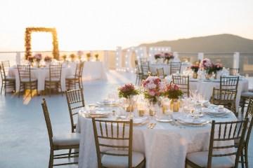 Intimate & Luxurious Cliffside Santorini Wedding   Stella and Moscha   Nikos Gogas 54