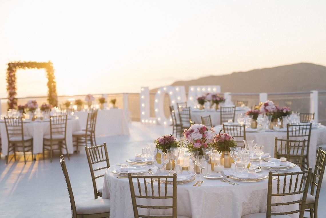 Intimate & Luxurious Cliffside Santorini Wedding | Stella and Moscha | Nikos Gogas 56