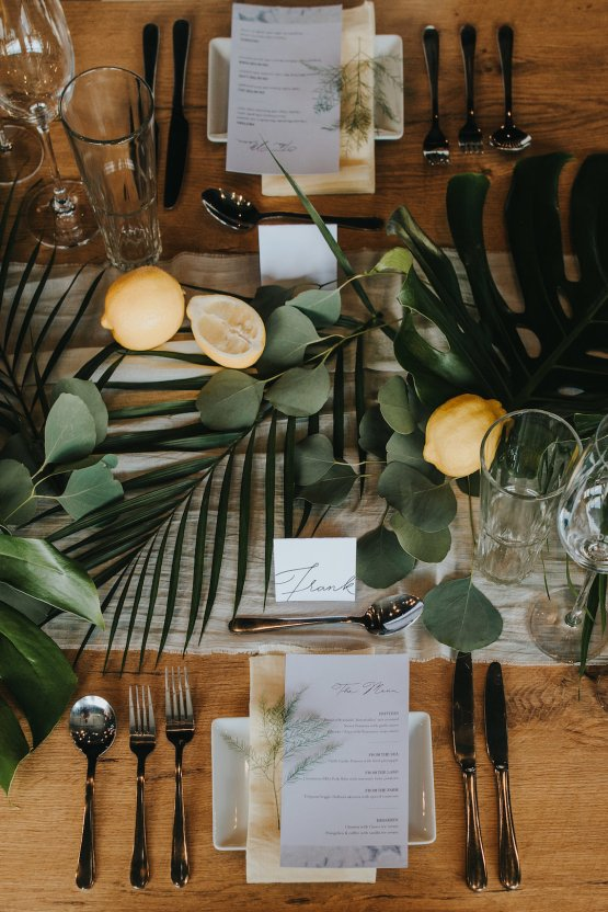 Modern Industrial London Wedding Inspiration With Succulents   Remain in the Light Photography 1