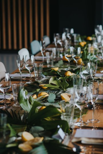 Modern Industrial London Wedding Inspiration With Succulents | Remain in the Light Photography 19