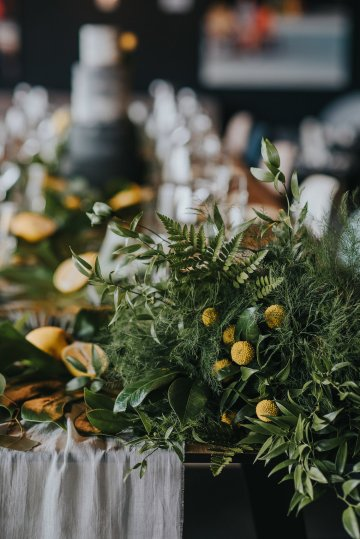 Modern Industrial London Wedding Inspiration With Succulents | Remain in the Light Photography 23