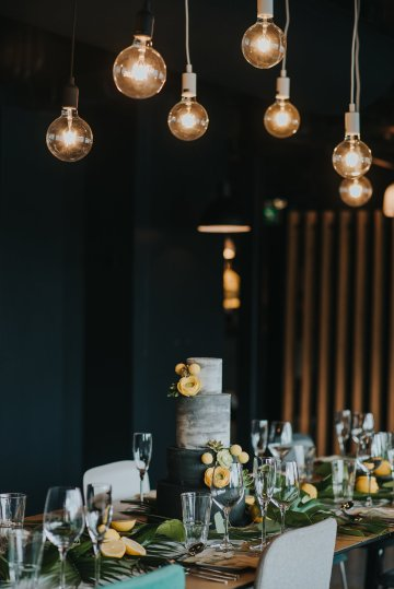 Modern Industrial London Wedding Inspiration With Succulents | Remain in the Light Photography 24