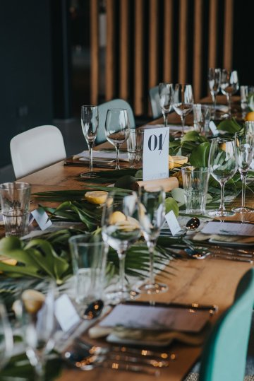 Modern Industrial London Wedding Inspiration With Succulents | Remain in the Light Photography 3