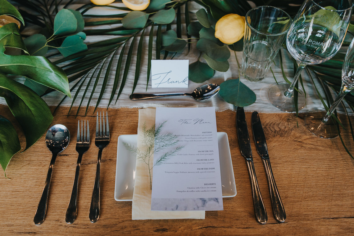 Modern Industrial London Wedding Inspiration With Succulents   Remain in the Light Photography 31