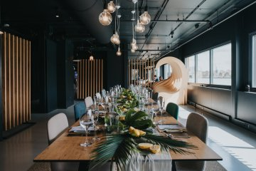 Modern Industrial London Wedding Inspiration With Succulents | Remain in the Light Photography 37
