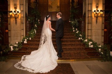 Practically Royal Luxe Chicago Cathedral Wedding | Christina G Photography | LOLA Event Productions 1