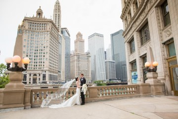 Practically Royal Luxe Chicago Cathedral Wedding | Christina G Photography | LOLA Event Productions 15