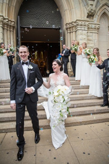 Practically Royal Luxe Chicago Cathedral Wedding | Christina G Photography | LOLA Event Productions 49
