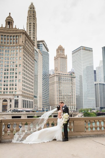Practically Royal Luxe Chicago Cathedral Wedding | Christina G Photography | LOLA Event Productions 50