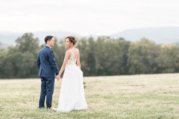 Pretty Pink DIY Barn Wedding With Loads Of Calligraphy Ideas | Audrey Rose Photography 12