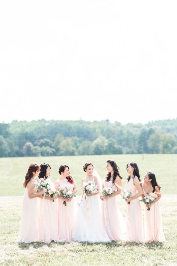 Pretty Pink DIY Barn Wedding With Loads Of Calligraphy Ideas | Audrey Rose Photography 38