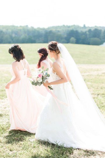 Pretty Pink DIY Barn Wedding With Loads Of Calligraphy Ideas | Audrey Rose Photography 41