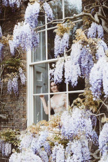 Romantic Wisteria Wedding Inspiration At Fulham Palace | Kitty Wheeler Shaw Photography 11