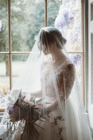 Romantic Wisteria Wedding Inspiration At Fulham Palace | Kitty Wheeler Shaw Photography 8