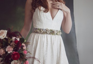 Rose Gold; Romantic Wedding Ideas With Stunning Headpieces | Flavelle & Co 11
