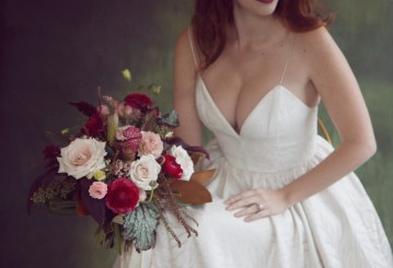 Rose Gold; Romantic Wedding Ideas With Stunning Headpieces | Flavelle & Co 16