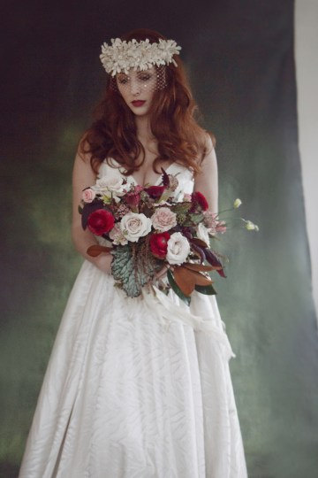 Rose Gold; Romantic Wedding Ideas With Stunning Headpieces | Flavelle & Co 17
