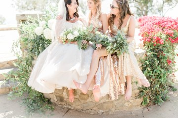 Sparkling Pink & Gold California Wedding | Haley Richter Photography 12