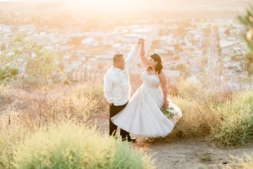 Sparkling Pink & Gold California Wedding | Haley Richter Photography 18