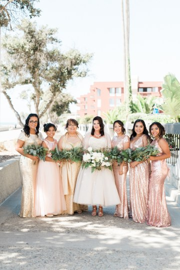 Sparkling Pink & Gold California Wedding | Haley Richter Photography 47