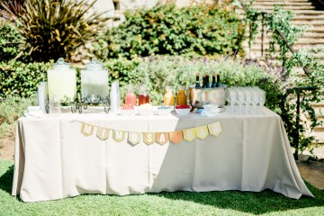 Sparkling Pink & Gold California Wedding | Haley Richter Photography 9