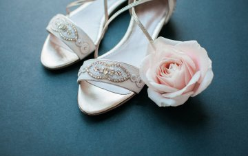 The Embellished & Chic Emmy London Bridal Shoes