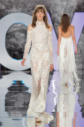 The Sexy & Embellished New Yolan Cris Wedding Dress Collections | DOME (2)
