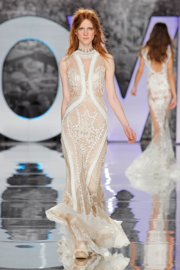 The Sexy & Embellished New Yolan Cris Wedding Dress Collections | GARMO (3)