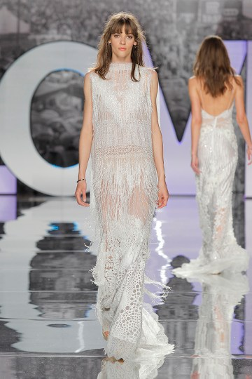 The Sexy & Embellished New Yolan Cris Wedding Dress Collections | MIKENO (1)