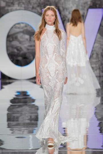 The Sexy & Embellished New Yolan Cris Wedding Dress Collections | MONTFERRAT (3)