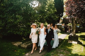 Totally Chic English Wedding With A Sweet Boat Ride   Oak & Blossom 20