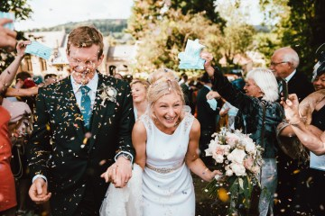 Totally Chic English Wedding With A Sweet Boat Ride   Oak & Blossom 25