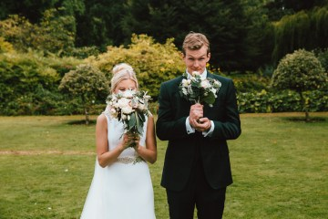 Totally Chic English Wedding With A Sweet Boat Ride   Oak & Blossom 36