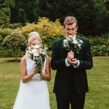 Totally Chic English Wedding With A Sweet Boat Ride | Oak & Blossom 36