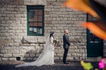 Edgy & Romantic Distillery Wedding | AGI Studio 11