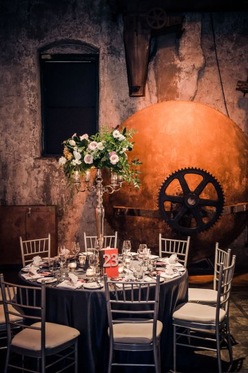 Edgy & Romantic Distillery Wedding | AGI Studio 23
