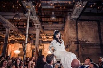Edgy & Romantic Distillery Wedding | AGI Studio 8