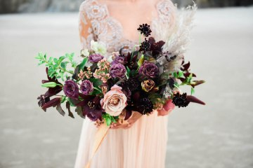 Ethereal Pacific Northwest Beachy Wedding Inspiration   Jessica Lynn Photography 14
